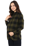 Basic Detail Check Shirt - MomSoon Maternity and Nursing Wear