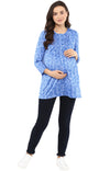 Pintuck Detail Nursing Top - momsoon maternity fashion wear