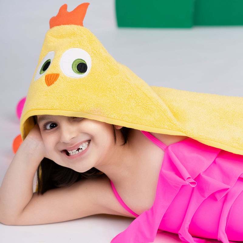 Rabitat Kids Hooded Towel Bird - momsoon maternity fashion wear