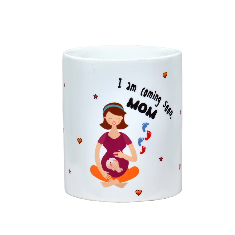 Pamper Hamper Coffee Mug For Mom To Be - momsoon maternity fashion wear