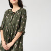 Flared Sleeve Tunic Dress - momsoon maternity fashion wear