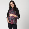 Paintbrush Print Raglan Sleeve Top - MomSoon Maternity and Nursing Wear