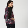 Paintbrush Print Raglan Sleeve Top - momsoon maternity fashion wear