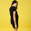High Neck Bodycon Dress - momsoon maternity fashion wear