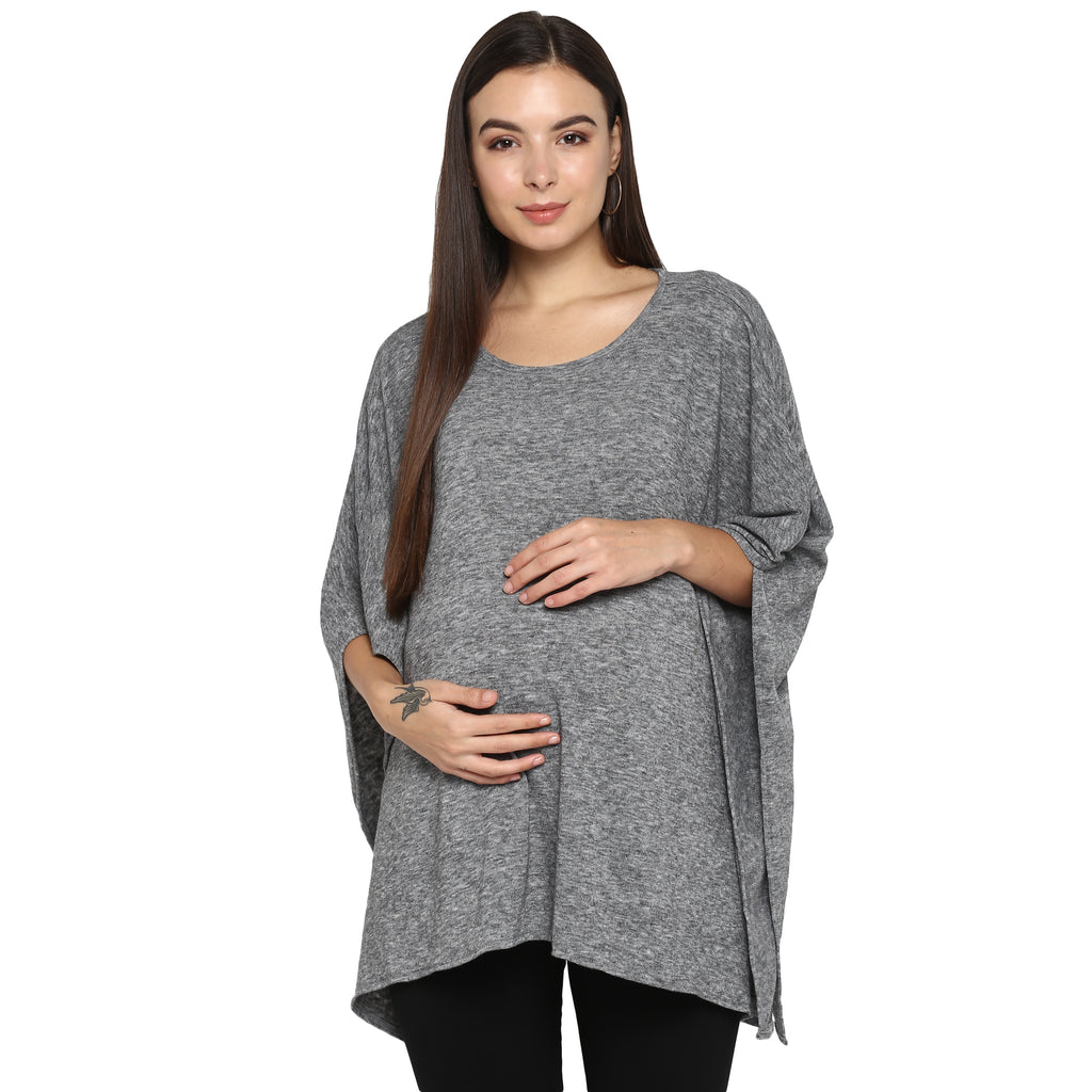 "The ""Poncho"" - momsoon maternity fashion wear"