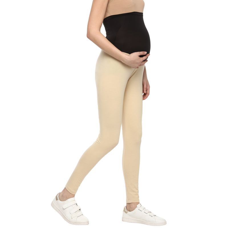 Momsoon Maternity Full Length Leggings - momsoon maternity fashion wear
