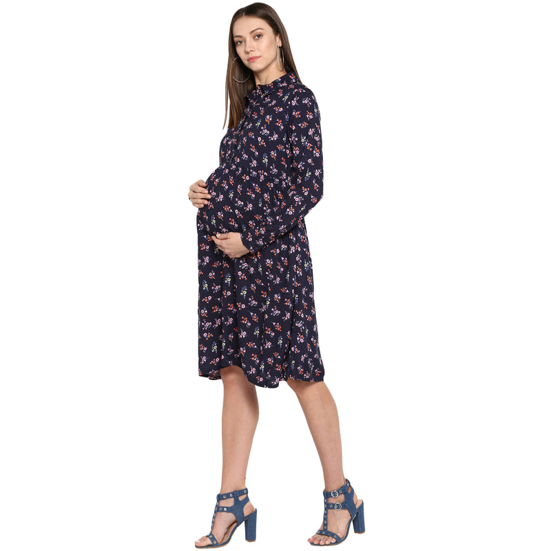 The Flora Dress - momsoon maternity fashion wear