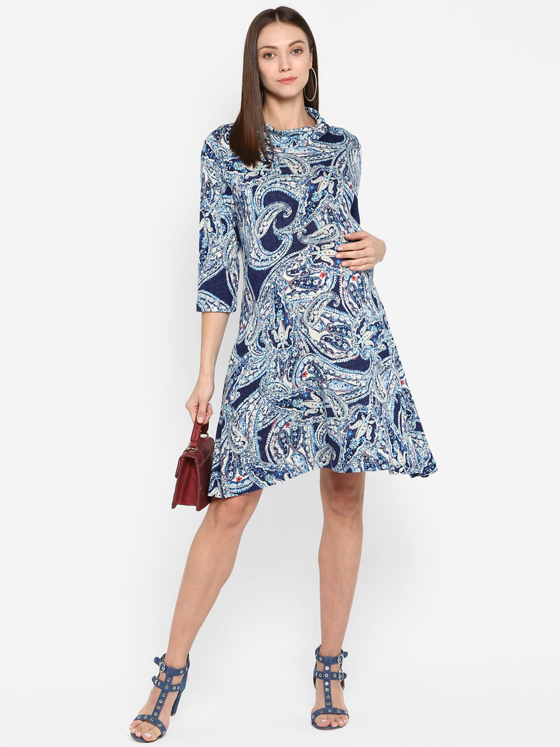 "The ""Paisley"" Dress - momsoon maternity fashion wear"