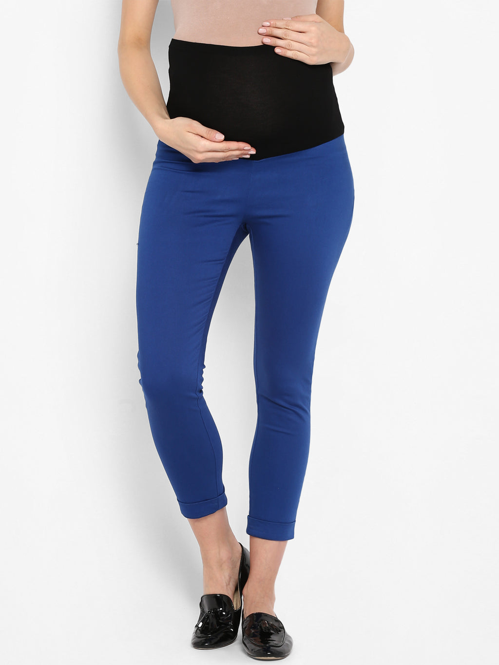 Momsoon Indigo Jeggings - momsoon maternity fashion wear