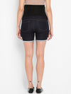Momsoon Maternity Denim Shorts - momsoon maternity fashion wear
