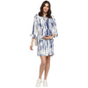 Maternity Nursing Tunic Dress With Flared Sleeve - momsoon maternity fashion wear