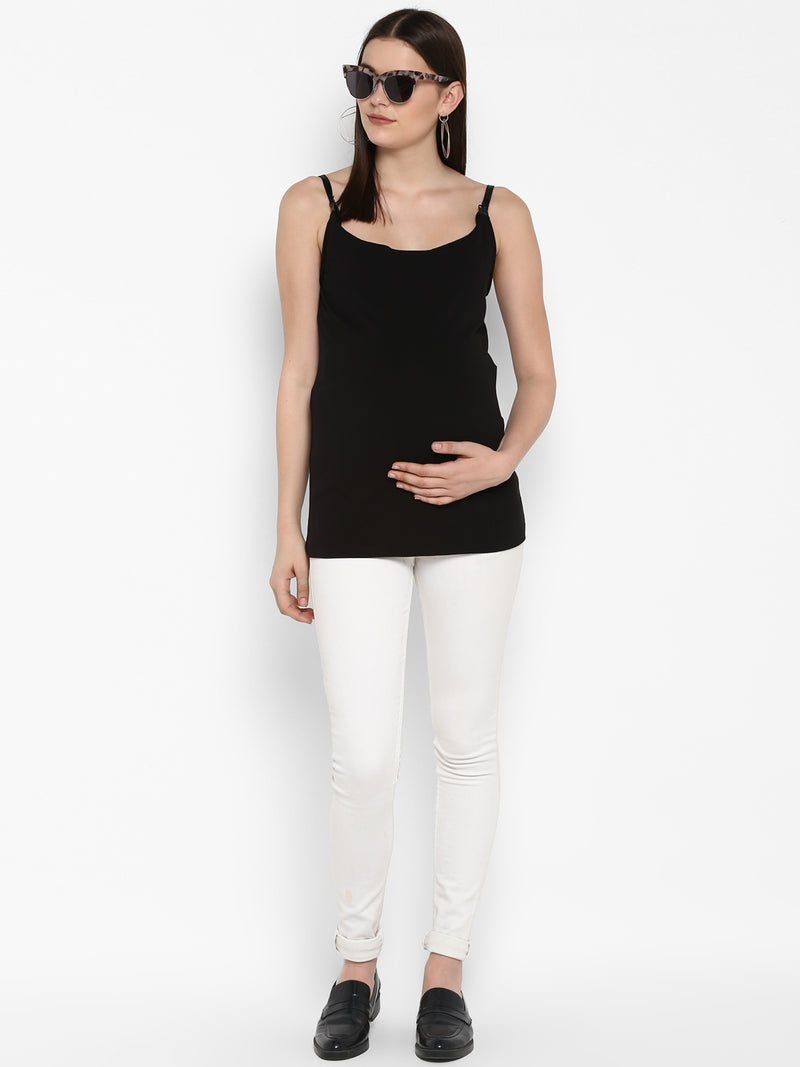 Momsoon Maternity NURSING Clip Cami - momsoon maternity fashion wear