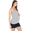 The Stripe Nursing Cami - momsoon maternity fashion wear
