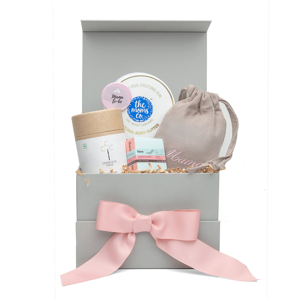 Trimester 2 'Stay Bumpilicious' Pregnancy Gift Box by Bump to Bunny - momsoon maternity fashion wear