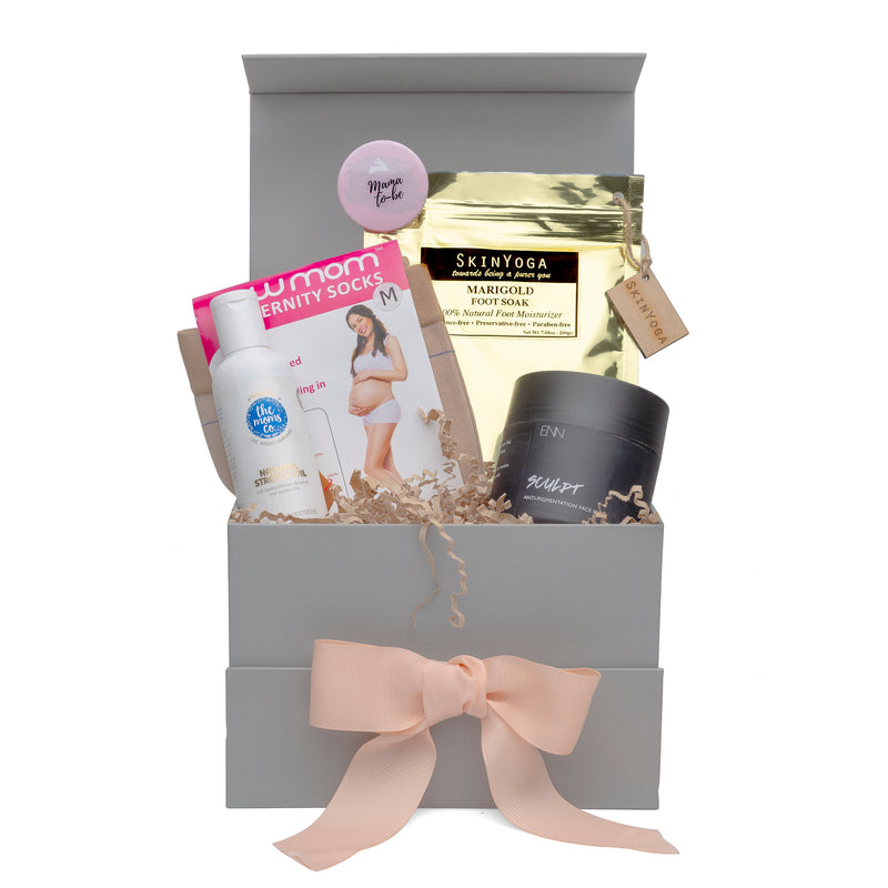 Trimester 3 'Adore, till it lasts' Pregnancy Gift Box by Bump to Bunny - momsoon maternity fashion wear