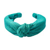 Green Knotted Headband