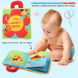 Cloth Book - Livro Educativo Interativo