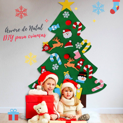 Happy Kids - Árvore de Natal DIY