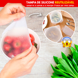 Fresh Food - Kit de Tampas de Silicone