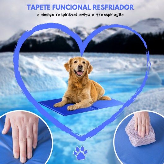 Happy Pet® - Tapete Resfriador para Cães