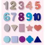 Numbers & Shapes - Brinquedo Educativo