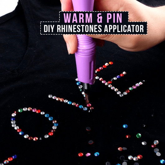 Warm & Pin - Aplicador de Strass DIY (Novo)