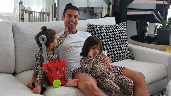 Cristiano Ronaldo properly equipped with Gianni Kavanagh