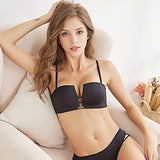 Push Up Square  Bra and Briefs Set