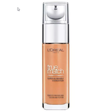 L'OREAL TRUE MATCH SUPER-BLENDABLE LIQUID FOUNDATION - 8.N CAPPUCINO