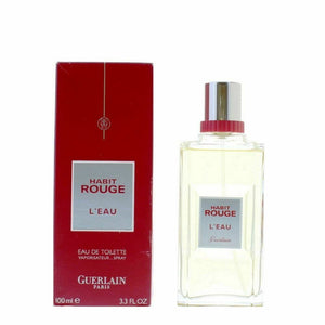 "Guerlain ""Habit Rouge"" L'Eau Eau de Toilette 100ml Spray"