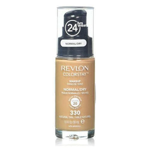 Revlon Colorstay Foundation NORMAL/DRY SKIN SPF 20, 330 NATURAL TAN