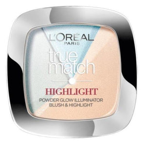 L'Oreal Perfect True Match Blush Highlighter Face Powder Icy Glow 302.R/C