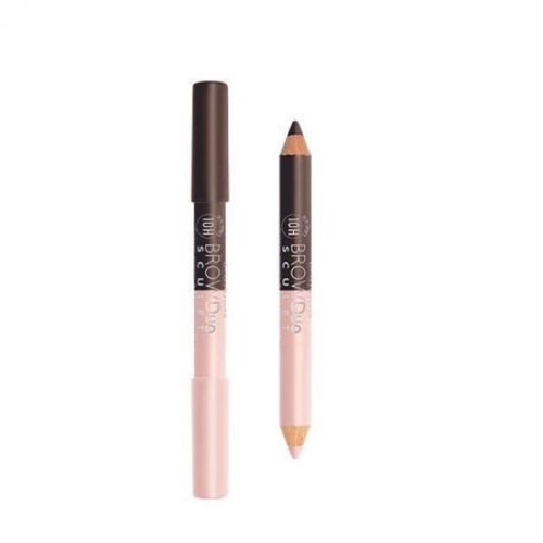BOURJOIS Brow Duo Pencil & highlighter 22 Chesnut