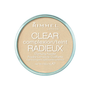 Rimmel London Clear Complexion Clarifying Powder, Transparent, 16 g
