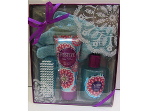 CREATIVE COLOURS Festive Bath Set