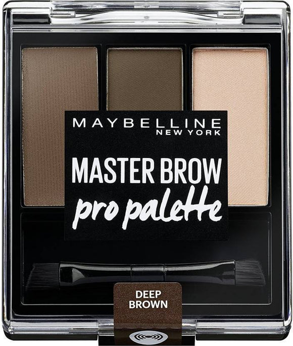 MAYBELLINE Master Brow Pro Palette Kit DEEP BROWN