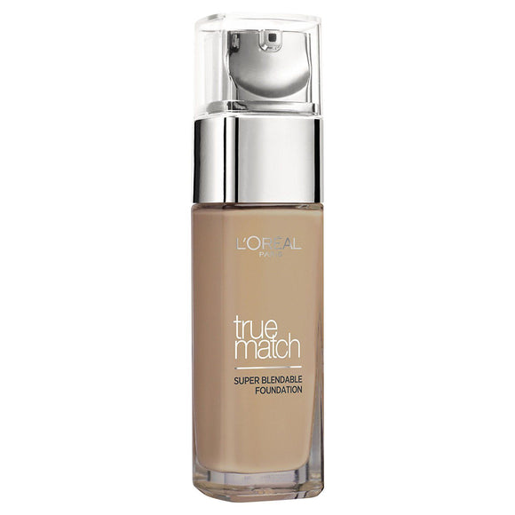 L'Oreal Paris True Match Foundation, 6.N Honey, 30 ml