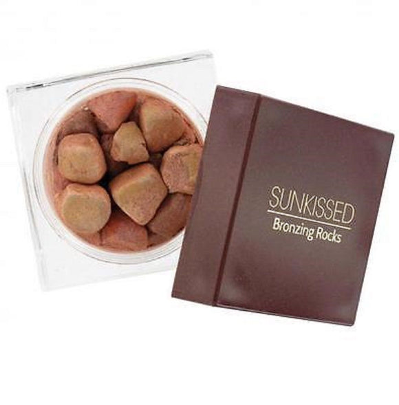 SUNKISSED Bronzing Rocks Pearls Beads Powder Bronzer Face Body Large 50g