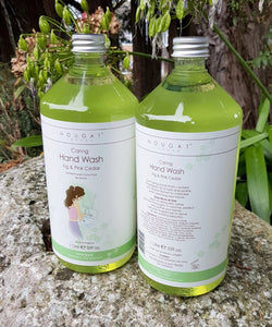"Fig & Pink Cedar ""Caring Hand Wash"" 1ltr  by Nougat London"