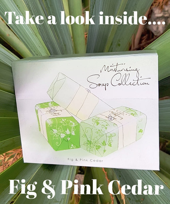 Fig & Pink Cedar Soap Collection by Nougat London