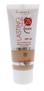 RIMMEL Lasting Finish 25 Hour Foundation NUDE SPF20 30 ml- 300 Sand