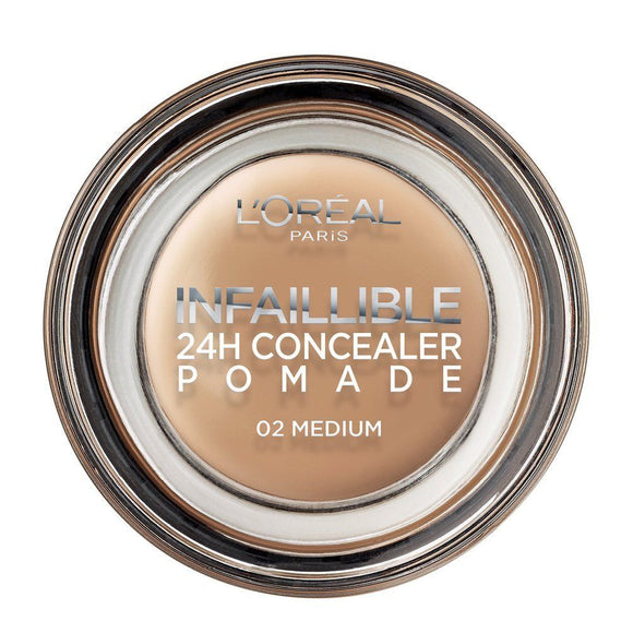 L'Oreal Paris Infallible Concealer Pomade 02 Medium 15g