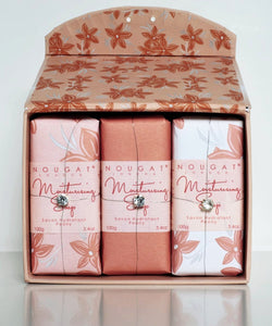 Peony Moisturising Soap Collection by Nougat London