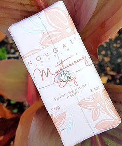 Peony Moisturising Soap 100g by Nougat London