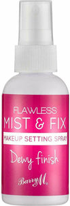 "BARRY M ""Mist & Fix"" Makeup Setting Spray, Dewy Finish"