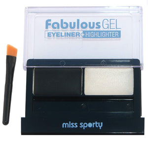 MISS SPORTY Liner & Highlighter Gel Duo