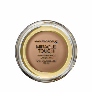 "MAX FACTOR ""Miracle Touch"" Foundation 083 Golden Tan"