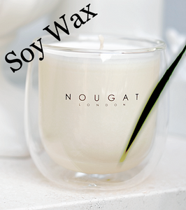 Peony Scented Soy Candle by Nougat London