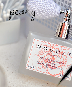 Peony Velvet Shimmer Powder by Nougat London