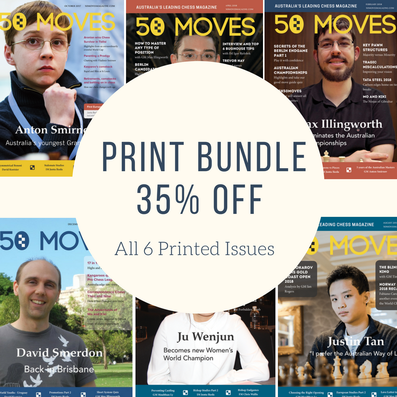 Print Bundle (6 Issues)